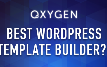 Oxygen Builder - One of The Best Template Builder for